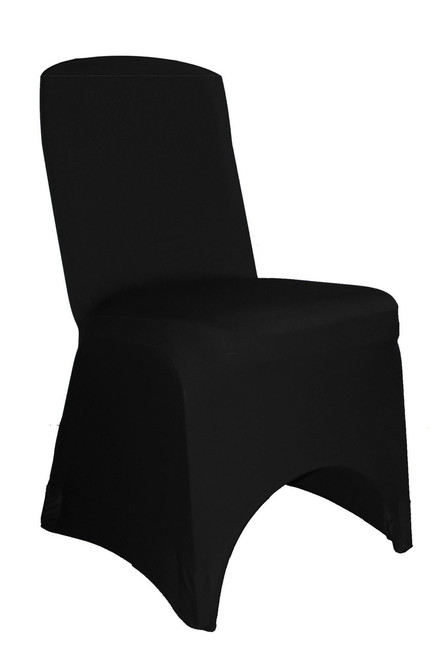 Miraculous Square Top Spandex Banquet Chair Cover Black Pack Of 6 Creativecarmelina Interior Chair Design Creativecarmelinacom
