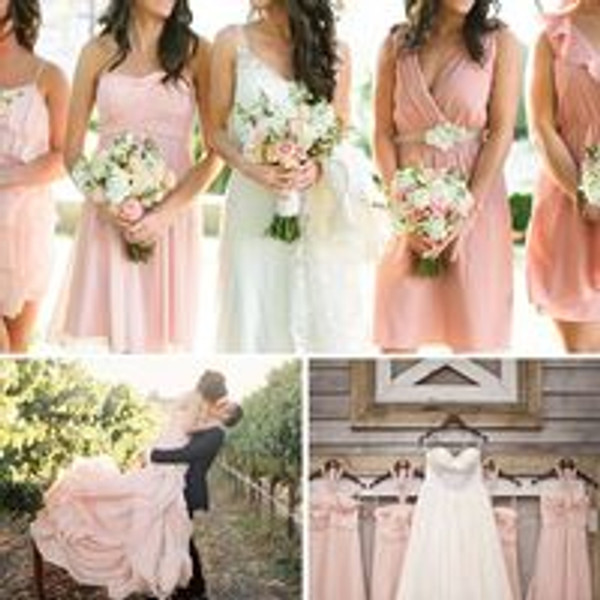 GET THE LOOK: Blush & Ivory Beach Wedding