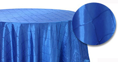 Pintuck Taffeta Tablecloths