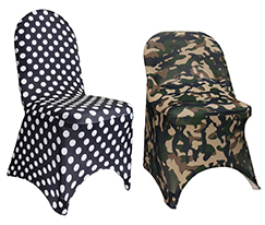 Spandex Printed Chair Covers