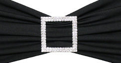 Rhinestone Chair Sash Buckles