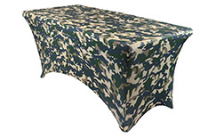 Spandex Printed Table Covers