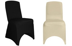 Square Top Spandex Banquet Chair Covers