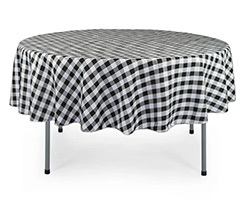 90 inch Polyester Round Tablecloths