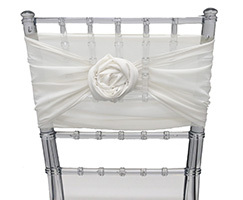 Chiffon Chiavari Chair Sashes