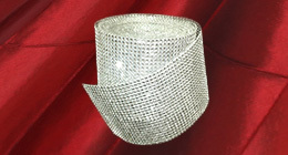 Diamond Rhinestone Ribbon Wrap Roll