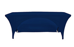 6 FT Open Back Rectangle Spandex Table Covers