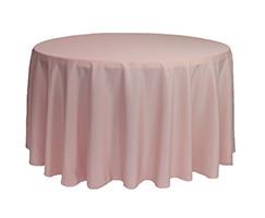 108 inch Polyester Round Tablecloths