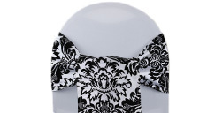 Damask Chair Sashes