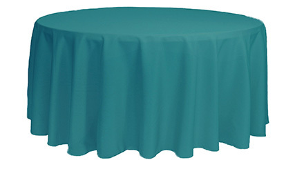 132 inch Polyester Round Tablecloths