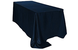 90 x 156 in. Satin Rectangle Tablecloths