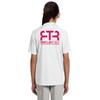 I Run This Town - Girl's Short-Sleeve Athletic Reflective Shirt (alt2)