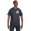 Men's American First Firefighter Tribute Reflective T-Shirt (White Graphic)