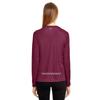Finish Line Women's Long-Sleeve V-Neck Reflective T-Shirt
