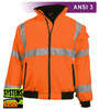 Our Hi Vis Orange Safety Jacket Visibility Enhanced Apparel (VEA®) brand apparel is ANSI III compliant. They feature a tough woven Safety Orange Fluorescent polyester shell which is soft and supple. The polar fleece lining (330 grams) with full interliner and zip through collar will keep you warm on colder days.