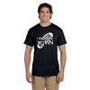 I Run This Town - Men's Cotton Short Sleeve Reflective T-Shirt