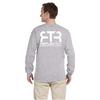 Bike Safety - Men's Ultra Cotton Long-Sleeve Reflective Shirt
