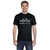 Bike Safety - Men's Cotton Short Sleeve Reflective T-Shirt