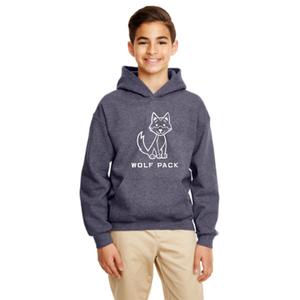 Boy's Wolfpack Reflective Hoody