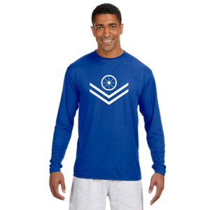 Men's Cycling Long-Sleeve Athletic Reflective Shirt