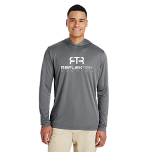 Speed Stripe Men's Running Pull Over Reflective Hoody
