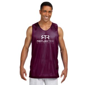RTR Basketball Reversible Men's Reflective Tank