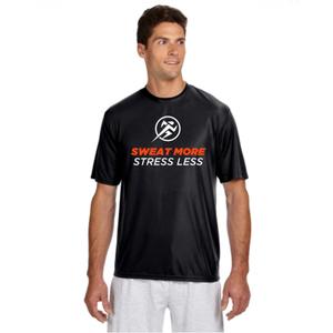 Sweat More, Stress Less Men's Cooling Performance Reflective Shirt
