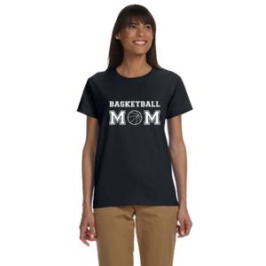 Basketball Mom Women's Reflective T-Shirt