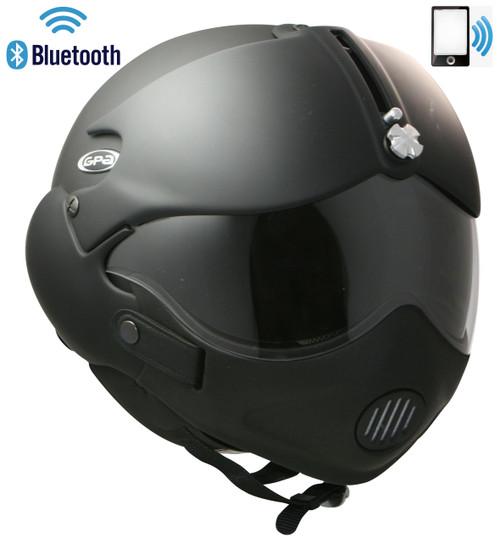 Tornado Matt Black + Mask + Bluetooth Phone
