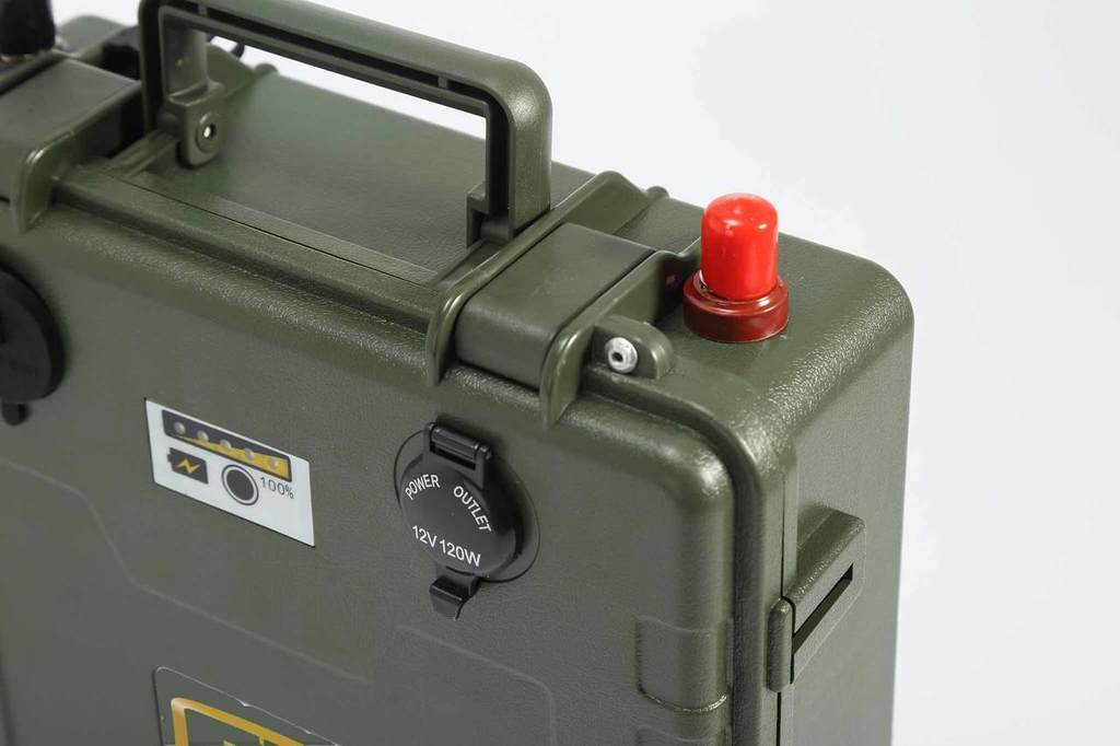 GoBatery 12V-200Ah Lithium-Ion Mobile Military Ultra Deep Cycle Battery