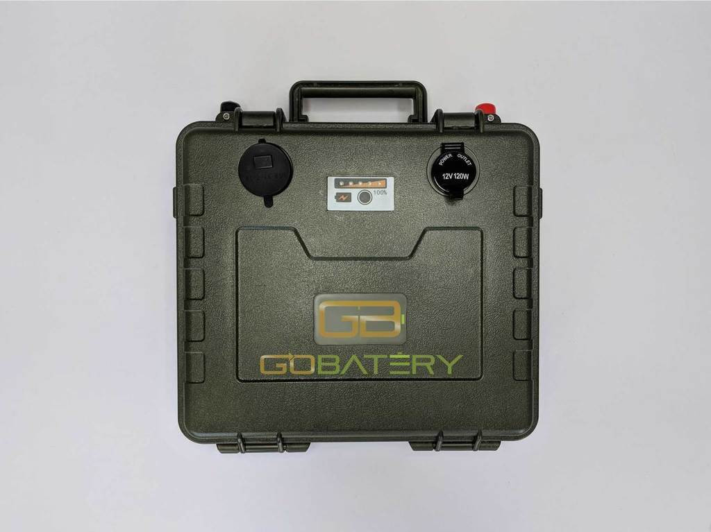 Go Batery Lithium Ion 12v 200Ah Military Battery