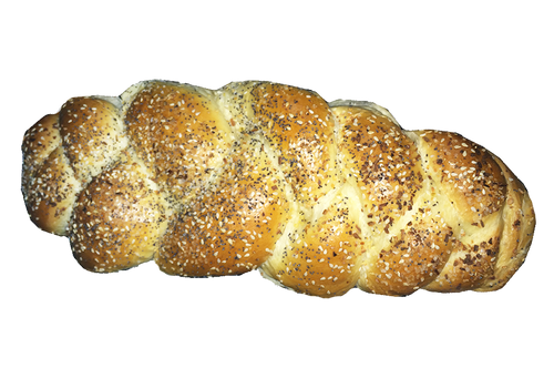 Everything Challah Bread