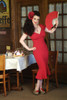 Red Dress Pin-Up
