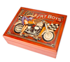 """Fatboys-- 6"" x 8"" Mahogany   Box"""