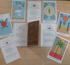 TAROT CARDS DECK WITH 30 COCKTAIL RECIPES