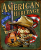 AMERICAN  HERITAGE  OUR  COUNTRY  MUSIC---METAL SIGN