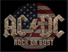 AC/DC METAL SIGN
