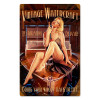 """VINTAGE  WATERCRAFT"" METAL SIGN"