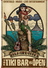 """Hula Time Honey Tiki Bar Sign"""