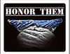 """HONOR  THEM""  METAL  SIGN"