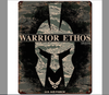 """USAF  WARRIOR  ETHOS""  METAL SIGN"