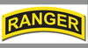 """ARMY RANGER INSIGNIA""   METAL  SIGN"