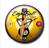 """EIGHT BALL LOUNGE & PIN-UP""  CLOCK"