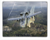 """A-10 THUNDERBOLT II""  METAL  SIGN"