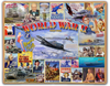 """FAMOUS POSTERS  &  ICONIC IMAGES  FROM WWII ""  12"" BY 15""  METAL SIGN"