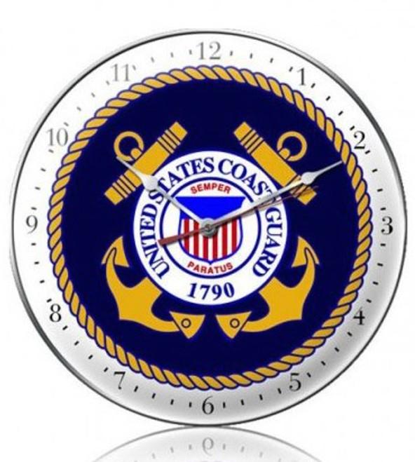 """US  Coast  Guard""  CLOCK"