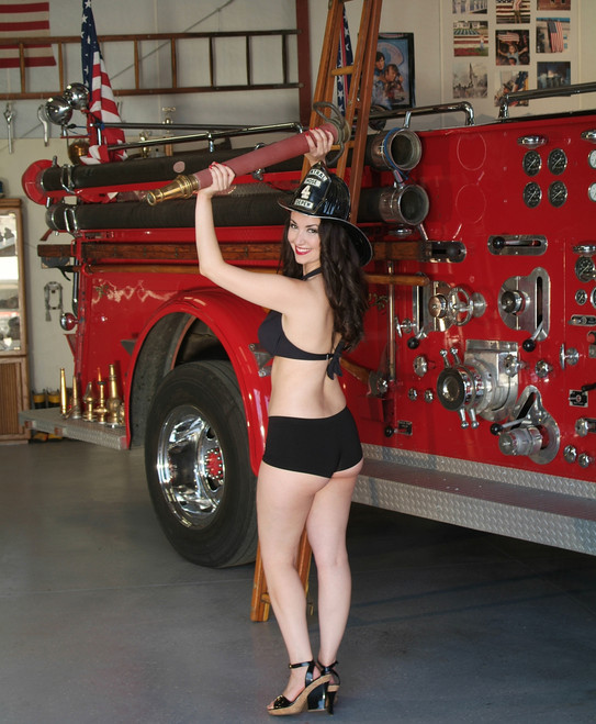 Fire Station Pin-Up
