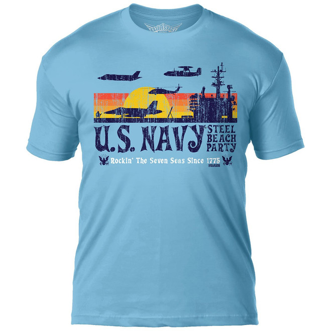 US Navy 'Steel Beach Party'  T-Shirt