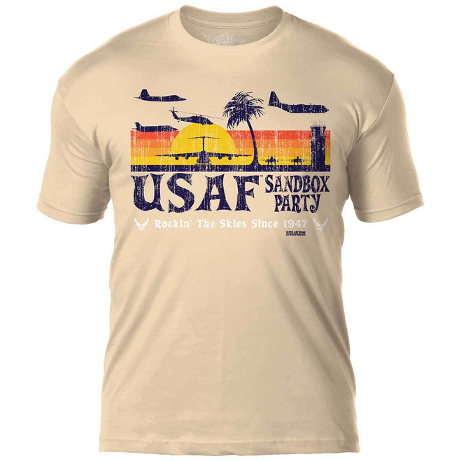 U.S.  Air Force  'Sandbox Party'  T-Shirt