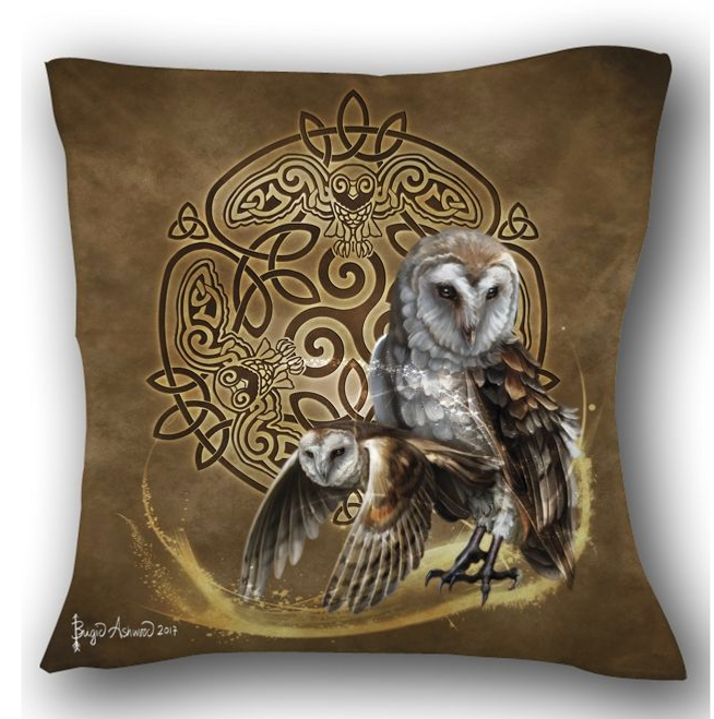 Celtic Owl  Pillow
